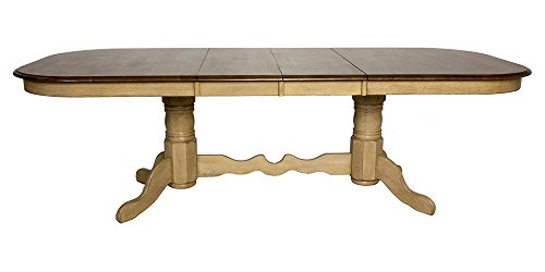 Sunset Trading Double Pedestal Extension Dining Table ()