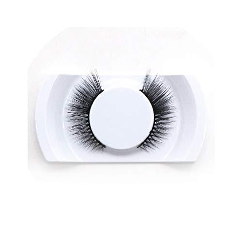 1 Pair Synthetic Hair Lashes Full Strip Long Natural Mink Eyelashes Wispy 3D Mink Lashes False Eyelashes Extension Supplies,D43]()