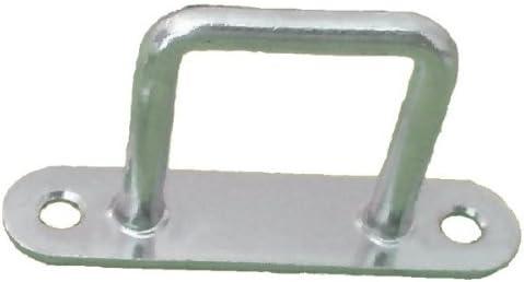 Stahl verzinkt Planenhaken B/ügel-// Riemenkrampen 42x37 mm 10 St/ück