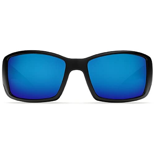 19bd8f42b9 cheap Costa Del Mar Blackfin 580G Matte Black Blue Mirror Polarized  Sunglasses