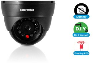 SECURITYMAN 320S Dummy indoor dome camera w/LED (SEC-320S)