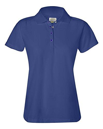 Izod Ladies' Performance Golf Piqu� Polo - COBALT - XL