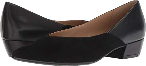 Betty Naturalizer 132 Suede Pump Women's Black Leather ARwwq4g58x