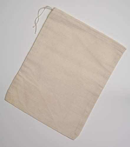 (Cotton Muslin Bags 8x10 inches 10 count pack)
