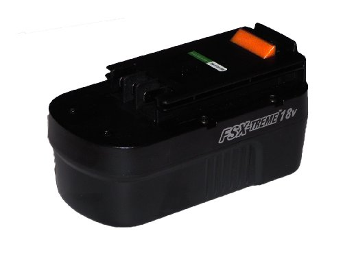 Black & Decker FS18BX 18 volt Slide-Style Battery