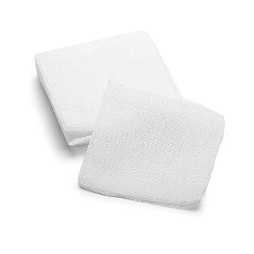 MediChoice Gauze Sponge, 8-Ply, Non-Sterile, 4x8 inch, White, 1314GZ4501 (Case of 4000)