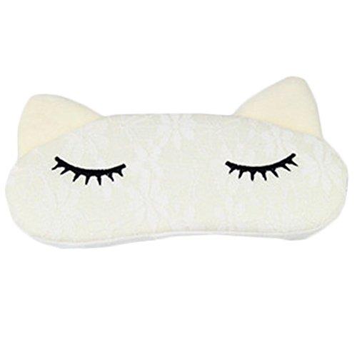 Bedtime Bliss Contoured & Comfortable Sleep Mask Eye-shade Aid-sleeping Cat E (Freeze Frame Eye Cream compare prices)