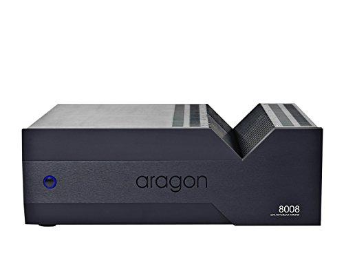 Aragon - 8008-200W Dual Monoblock Amplifier - Black