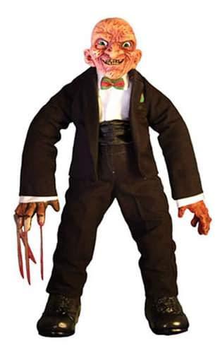 Mezco Toyz Cinema of Fear Deluxe Plush Series 2 Freddy Krueger (Nightmare On Elm Street 3: Dream Warriors)