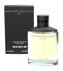 B00017YDYG Dell Acqua Man By Alessandro Dell Acqua Eau-de-toilette Spray, 3.4-Ounce 31pqk04fjZL