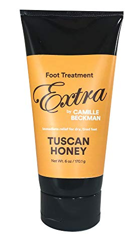 - Camille Beckman Foot Treatment Extra Moisturizing Cream, Tuscan Honey, 6 Ounce