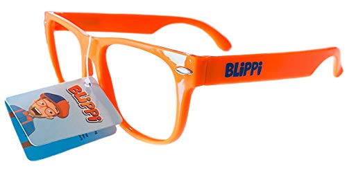 Blippi Glasses for Children - Orange Nerd Glasses]()
