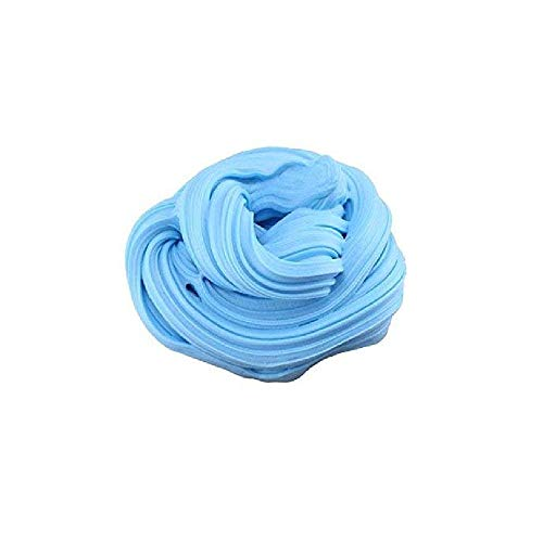 COMIART Air Dry Ultra-Light Plasticine and Modeling Clay Sky Blue Color 100g (5x20g/bag)