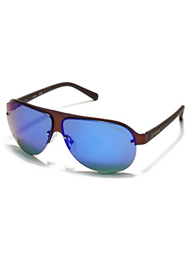 GUESS Factory Men's Rimless 3D Shield - Guess Rimless Glasses