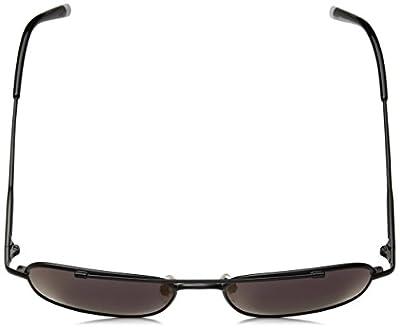 Calvin Klein Unisex Ck2150s Navigator Aviator Sunglasses, Matte Black, 53 mm