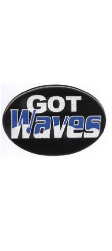 Knockout 519H Got Waves Hitch Cover