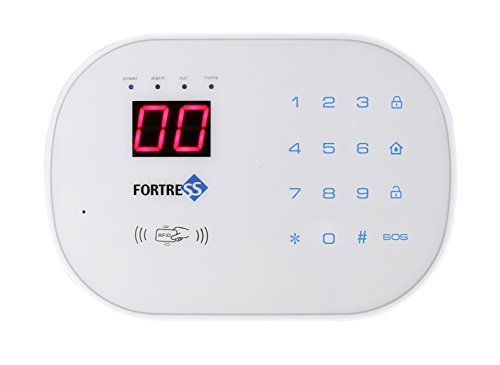 Works with Alexa -App Controlled Updated S03 WiFi and Landline Security Alarm System Starter Kit Wireless DIY Home Security System by Fortress Security Store- Easy to Install by Fortress Security Store (Image #1)