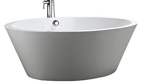 Vasche Da Bagno Udine : Bellaterra home ba6827 udine 170 2 cm vasca da bagno autoportante in