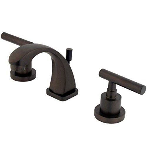 Kingston Brass KS4945CML MANHATTAN Mini Widespread Lavatory Faucet