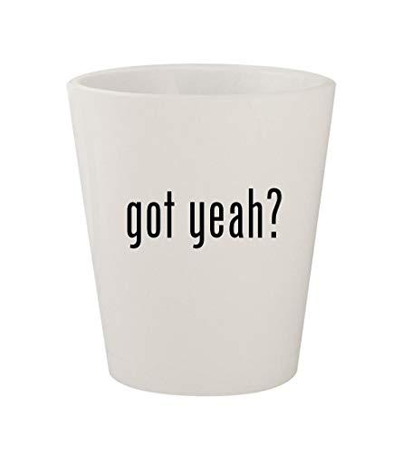 got yeah? - Ceramic White 1.5oz Shot -