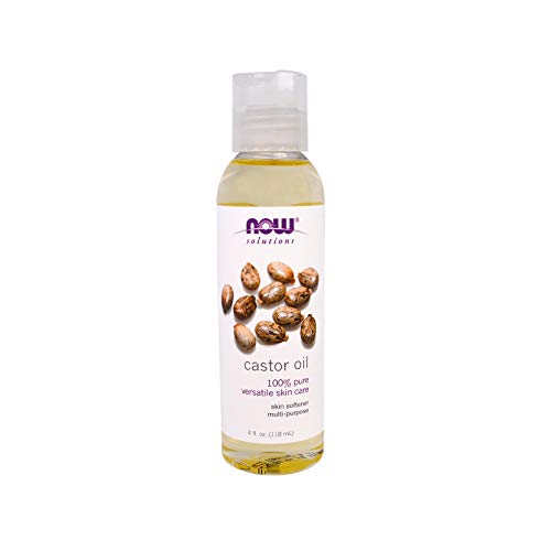 - NOW Solutions, Castor Oil, 100% Pure Versatile Skin Care, Multi-Purpose Skin Softener, 4-Ounce