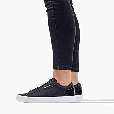 adidas Originals Sleek Sneaker Damen Schwarz | Lifestyle
