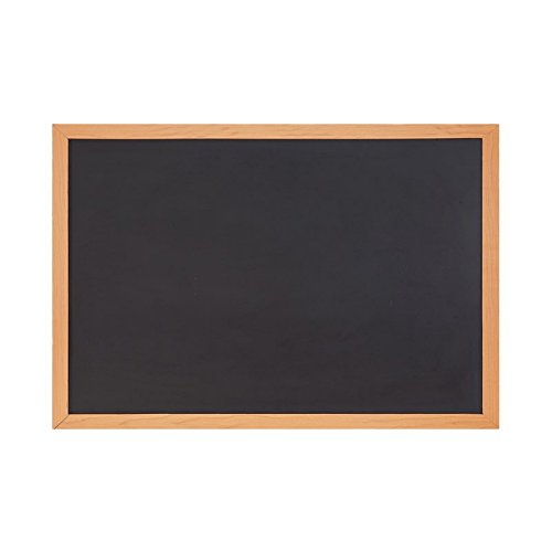 Comix 24 X36   2 X3 Ft Chalkboard Blackboard For Home  School  And Offfice   Wood Frame  Bb6090  Back To School Campus