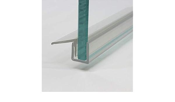 Heiler - Perfil de desagüe de agua para puerta corredera (2 piezas, para cristal de 8 mm): Amazon.es: Bricolaje y herramientas