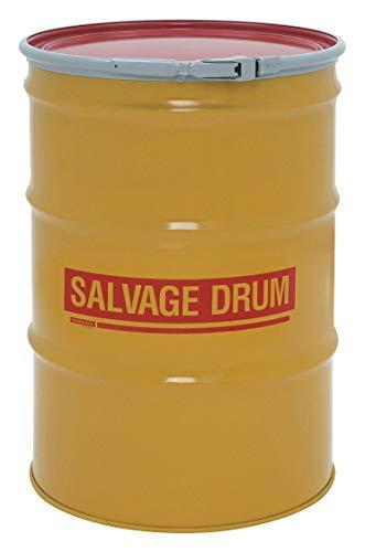 (Skolnik Steel Overpack/Salvage Drum - 55-Gallon Capacity - Lever Lock Closure )