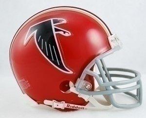 Riddell NFL Atlanta Falcons Helmet Mini VSR4Helmet Replica Mini VSR4 Style 1966-1969 Throwback, Team Colors, One Size