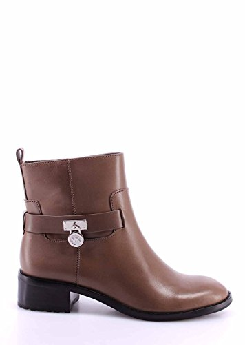Damen Stiefeletten Schuhe MICHAEL KORS Ryan Ankle Boot Elephant Leather Neue