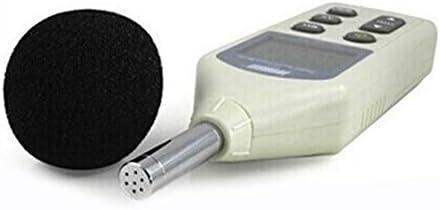 SUIWO Sound Noise Meters Decibel Meter, Sound Level Meter Audio Noise Measure Device Measuring Portable Recorder Sound Level Meter Noise Detector (Size : 256x70x35mm)