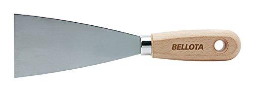 Bellota 5890-80 Espá tula de Acero al Carbono Mango Madera, 80 mm