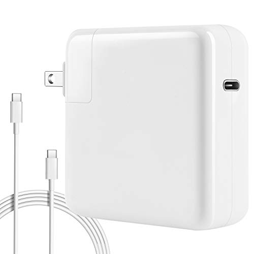 87w USB-C Power Adapter Compatible with Macbook Pro Charger 87w USB C 2018 New Macbook Air Charger 2017 Mac Thunderbolt Charger 13 15 2016 Type C Charger and More USB C Devices (New Mac Apple Pro)