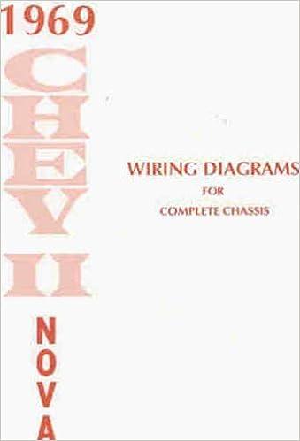 1969 chevy ii & nova wiring diagram manual reprint: gm: amazon.com: books  amazon.com