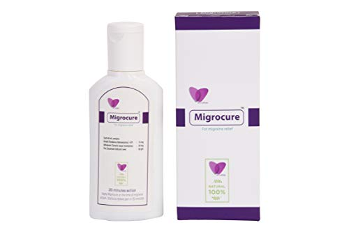 Migrocure for migraine Pain Relief | Natural, ayurvedic | Highly Effective | External Application only
