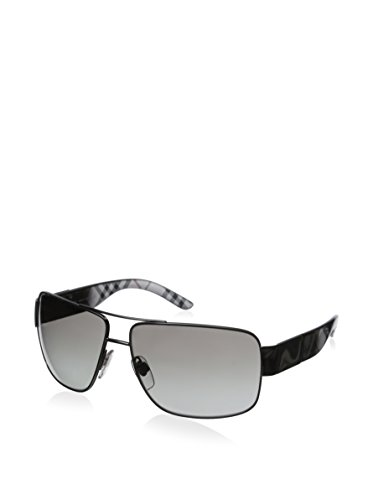 Burberry BE3040 Sunglasses-1057/11 Gunmetal (Gray Gradient - Burberry Case Glasses