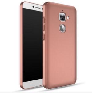 Tutoy Caja Protectora Helada Ultra Delgada para Letv Leeco Le S3/Letv Leeco Le 2 X620/Leeco Le 2 Favorable-Oro Color De Rosa