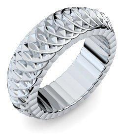 Weißgold ring ohne stein  Ausgefallene Ringe Weißgold Ring 585 + inkl. Luxusetui + Ring ...