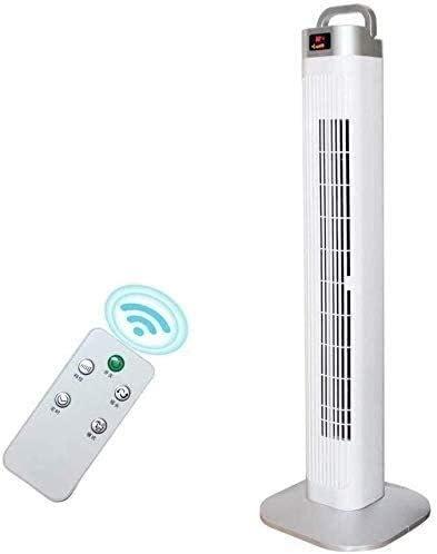 ventilador Inteligente Torre Digital, Temporizador y Control Remoto 8H, Blanco: Amazon.es: Hogar