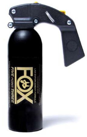 Fox Labs Law Enforcement Defense Spray 12 Ounce Pistol Grip Fog ()
