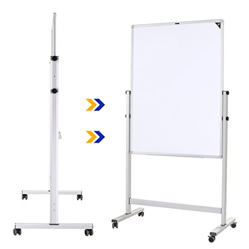 zhidian magnetic whiteboard mobile dry erase board with stand import it all. Black Bedroom Furniture Sets. Home Design Ideas