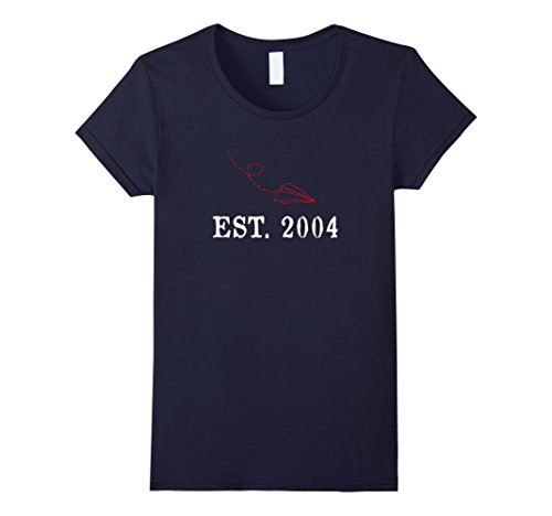 Womens 14th Birthday Shirt Cute BDay Gifts Present For Him For Her Small Navy