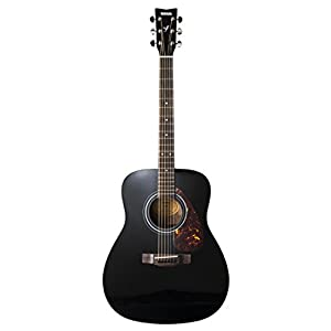 Yamaha F370 Full Size Steel String Acoustic Guitar – Traditional Western Body – Classic Black