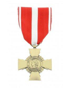 Le Comptoir Des Médailles - Médaille Croix de la Valeur Militaire Patiné - DEMO03VAMIL