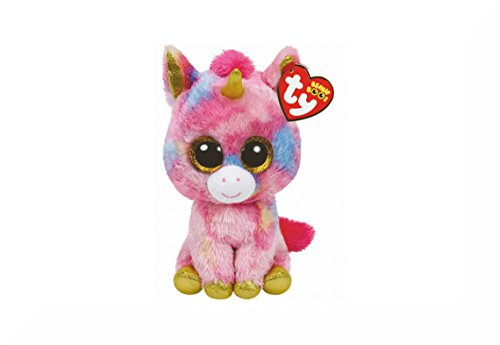 TY Beanie Boo Buddy Approximately 9' And Inspirational Magnet (Fantasia...
