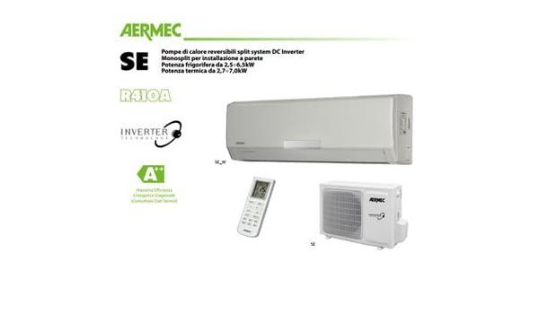 monosplit Climatizador/Aire Acondicionado AERMEC ad Inverter 18000 BTU - 5,0 Ke a +/A + SE500/se500 W: Amazon.es: Bricolaje y herramientas