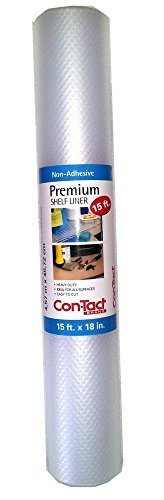 - Contact Premium Non-adhesive Shelf Liner 15 Ft. - Bundle (2 Packs - 30 Total Ft.)