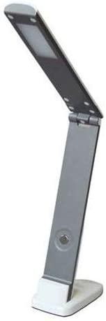 Flexo LED dimable 8W de Luz blanca 4000K en acabado plata y blanco ...