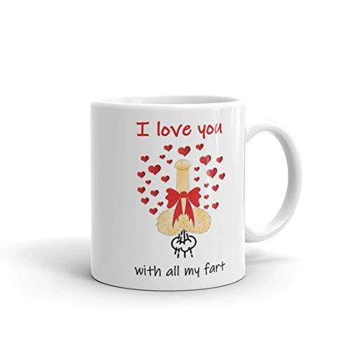 Amazon Rude Cup Funny Birthday Gift Dick SexPenis Mug Love